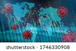 coronavirus impact global... | Shutterstock . vector #1746330908