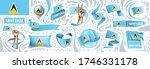 vector set of the national flag ... | Shutterstock .eps vector #1746331178