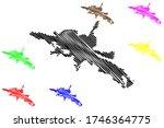 kutahya city  republic of... | Shutterstock .eps vector #1746364775