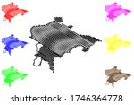 kurgan city  russian federation ... | Shutterstock .eps vector #1746364778