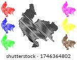koszalin city  republic of... | Shutterstock .eps vector #1746364802