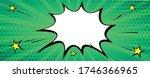 green comic graphic vector | Shutterstock .eps vector #1746366965