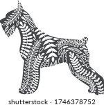 vector flat line isolated hand... | Shutterstock .eps vector #1746378752