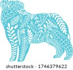 vector flat line isolated hand... | Shutterstock .eps vector #1746379622