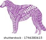 vector flat line isolated hand... | Shutterstock .eps vector #1746380615