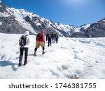 Tasman Glacier Hiking In Mt...