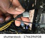 Pc Case\'s Front Panel Cables T...