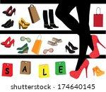 sale | Shutterstock .eps vector #174640145