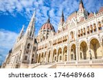 The Hungarian Parliament In Th...