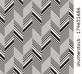 abstract herringbone seamless... | Shutterstock .eps vector #174651686