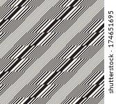 abstract broken striped... | Shutterstock .eps vector #174651695