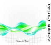 blue green trendy vector... | Shutterstock .eps vector #1746546395