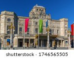 """Small photo of Royal Dramatic Theatre is Sweden's national stage for """"spoken drama"""", founded in 1788 in Stockholm, Sweden"""