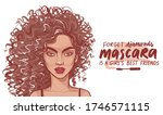 fashion brunette woman with... | Shutterstock .eps vector #1746571115
