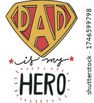 happy fathers day design ... | Shutterstock .eps vector #1746599798