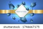 class of bright blue gradient... | Shutterstock .eps vector #1746667175