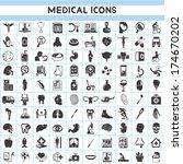 medical icons set   Shutterstock .eps vector #174670202