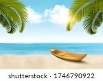 summer vacation background. ... | Shutterstock .eps vector #1746790922