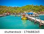 Ship While On Koh Rong Island ...