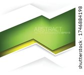 green vector background... | Shutterstock .eps vector #1746884198