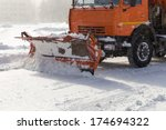 Snowplow Removing Snow From...