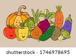 cute colorful black outline... | Shutterstock .eps vector #1746978695