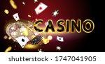 online casino. smartphone or... | Shutterstock .eps vector #1747041905