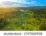 Meander Of The Wieprz River  ...