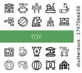 set of toy icons. such as drone ... | Shutterstock .eps vector #1747066658