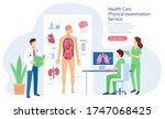 health care physical system... | Shutterstock .eps vector #1747068425