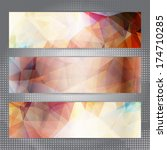 abstract geometric invitation... | Shutterstock .eps vector #174710285