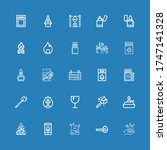 Editable 25 Flammable Icons Fo...