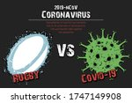 Banner Rugby Vs Covid 19 Made...