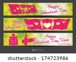 vector info graphic banner love | Shutterstock .eps vector #174723986