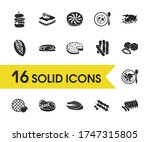 culinary icons set with south...