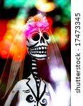 Festive Skeleton Bride And...
