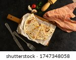 Wheat Tortilla With Vegetable...