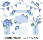 flowers in june | Shutterstock .eps vector #174747422