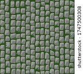 seamless pattern of cobblestone ...