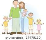 a cartoon vector drawing of a... | Shutterstock .eps vector #17475130