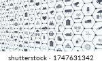 industry 4.0  internet of... | Shutterstock .eps vector #1747631342