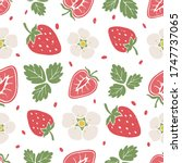 Cute Berry Seamless Pattern....