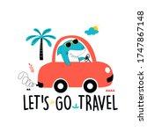 driver shark vector... | Shutterstock .eps vector #1747867148