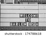 Welcome To Harlem Usa Sign In...