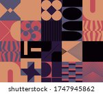 modern artwork of abstract... | Shutterstock .eps vector #1747945862