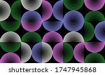 neo modernism artwork pattern... | Shutterstock .eps vector #1747945868