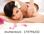 spa woman. close up of a... | Shutterstock . vector #174796232