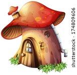 Illustration Of A Mushroom...