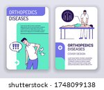 orthopedics diseases and... | Shutterstock .eps vector #1748099138