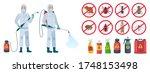 cartoon disinfector.... | Shutterstock .eps vector #1748153498